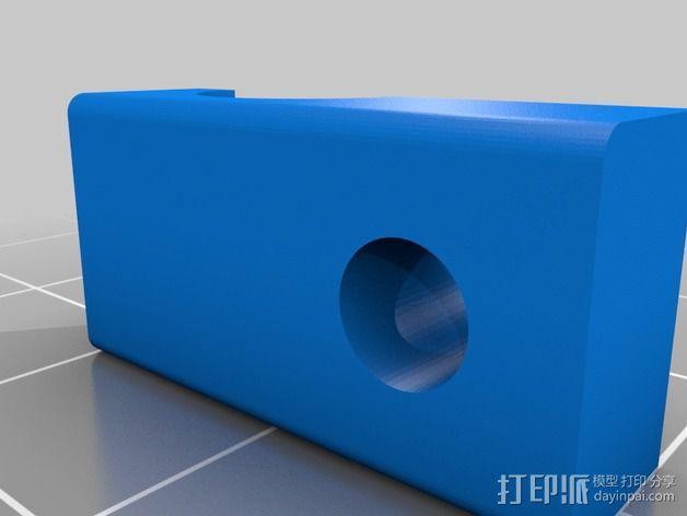 OneUp/TwoUp打印机Z轴限位开关固定架 3D模型  图2