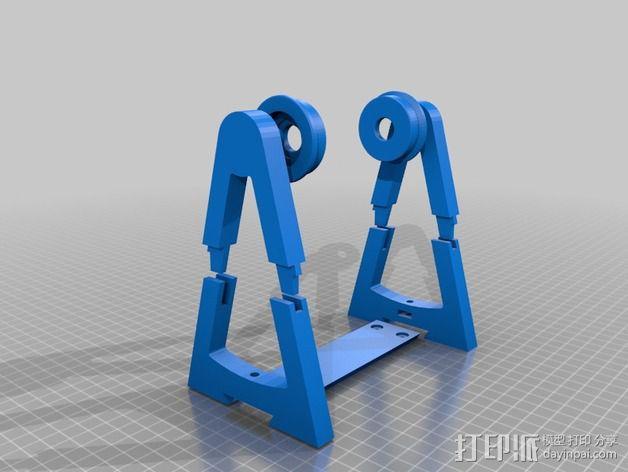 线轴架 3D模型  图6