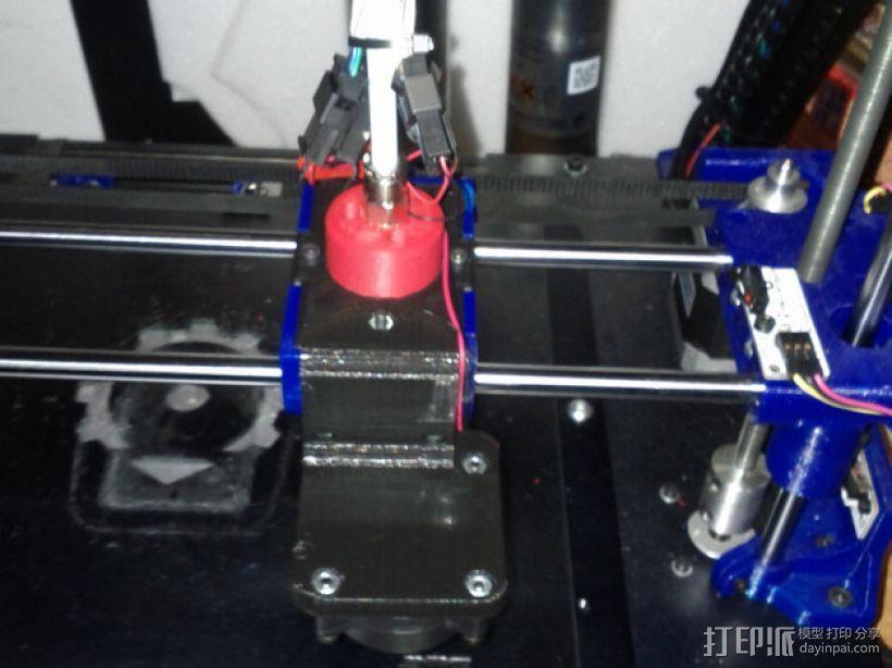 鲍登挤出机 3D模型  图1