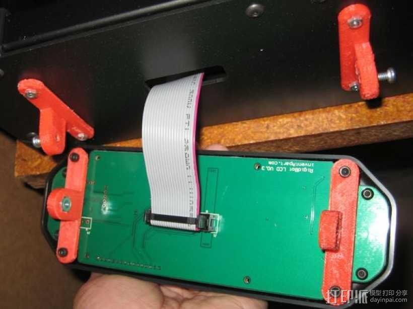控制器仪表盘支架 3D模型  图1