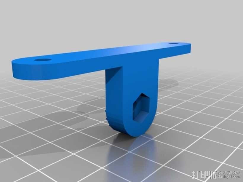 控制器仪表盘支架 3D模型  图4