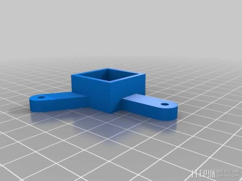 扫描仪支架 3D模型  图2