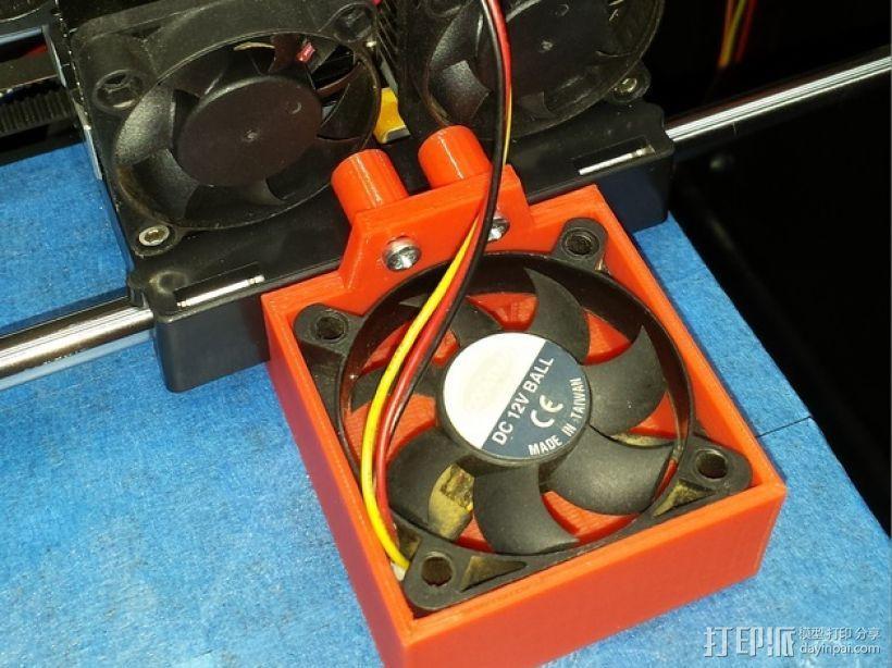 风扇架 风扇导管 3D模型  图1