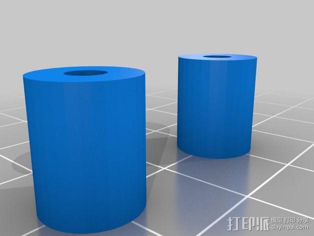 风扇架 风扇导管 3D模型  图2