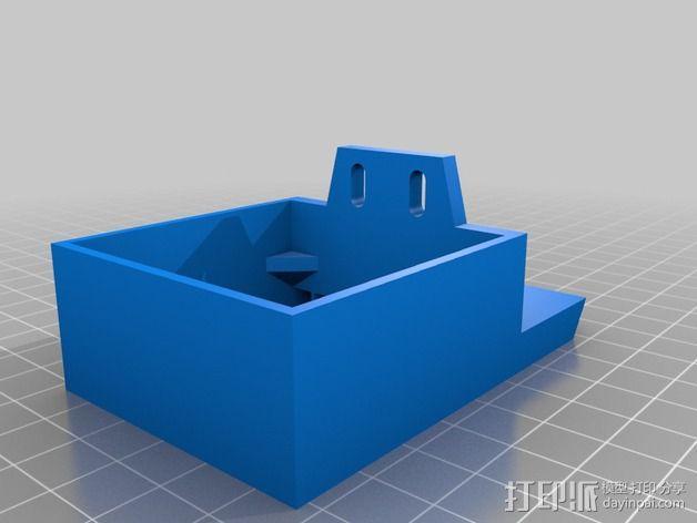 风扇架 风扇导管 3D模型  图3