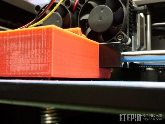 风扇架 风扇导管 3D模型  图4