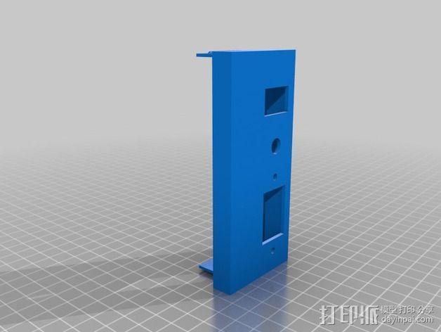 电源罩 电源保护罩 3D模型  图2