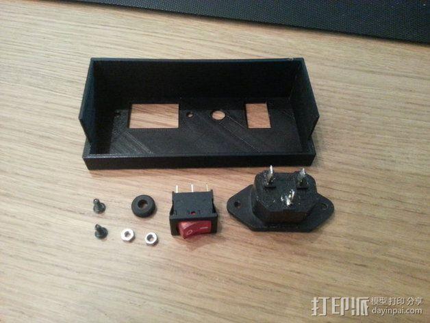 电源罩 电源保护罩 3D模型  图4