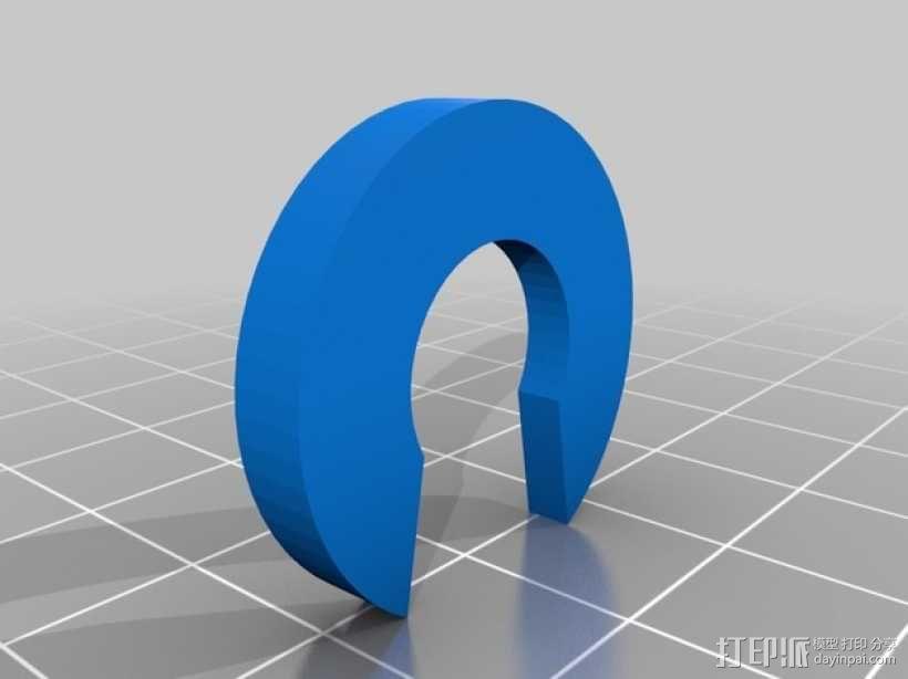 喷头架  3D模型  图2
