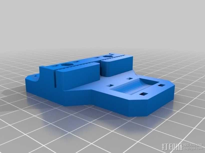 喷头架  3D模型  图4