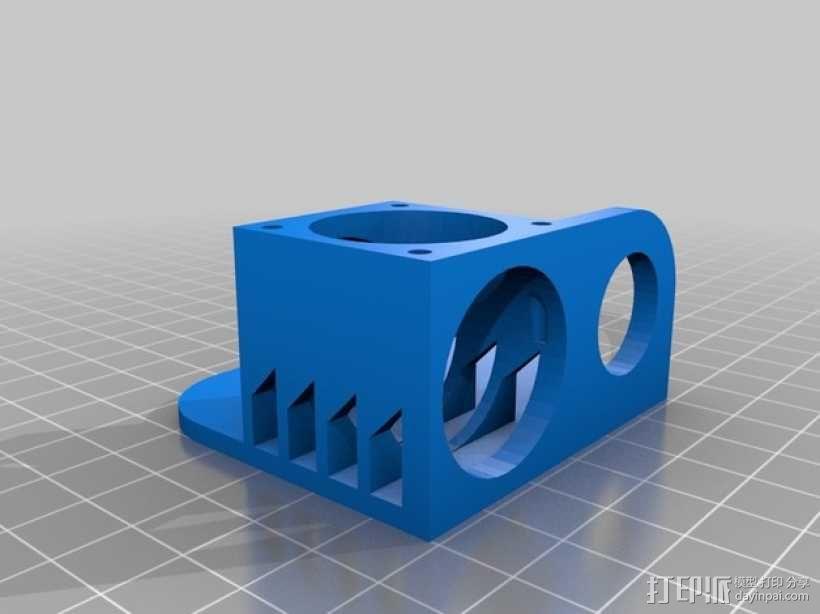 喷头架  3D模型  图3