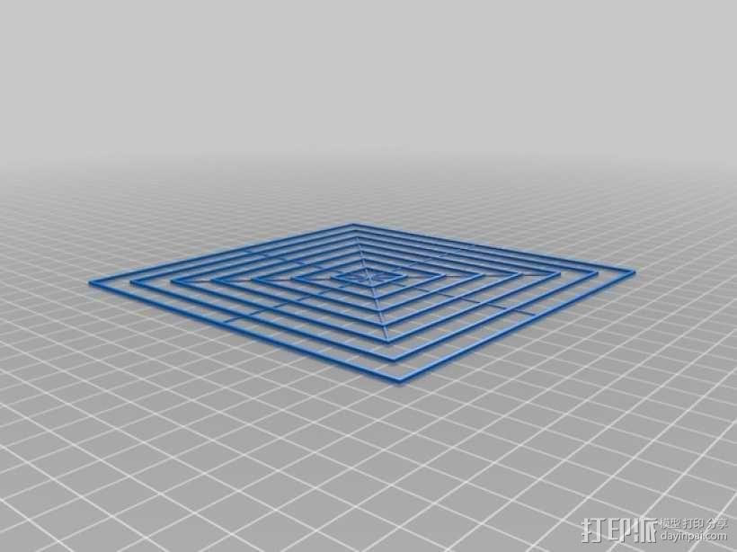 调平器 3D模型  图1