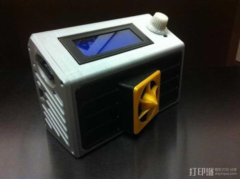 智能控制器LCD保护盒 3D模型  图1