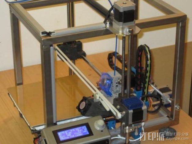 智能控制器LCD保护盒 3D模型  图3