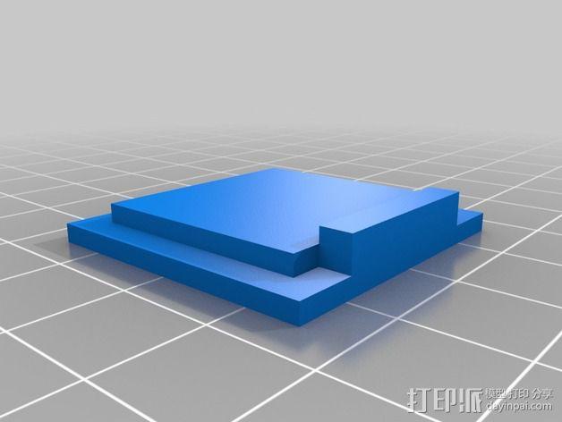 树莓派相机架 3D模型  图3