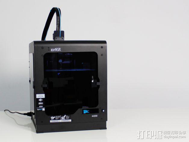 打印机机身侧面防护罩 3D模型  图3