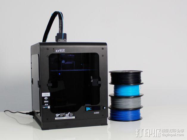 打印机机身侧面防护罩 3D模型  图4