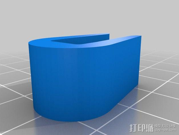 打印机机身侧面防护罩 3D模型  图5