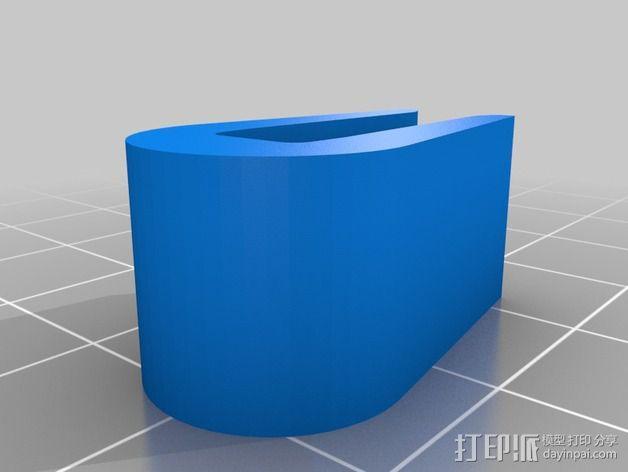 打印机机身侧面防护罩 3D模型  图7