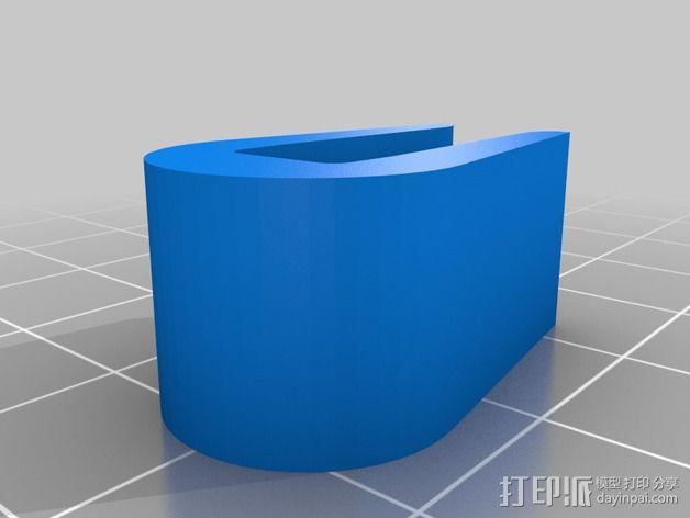 打印机机身侧面防护罩 3D模型  图6