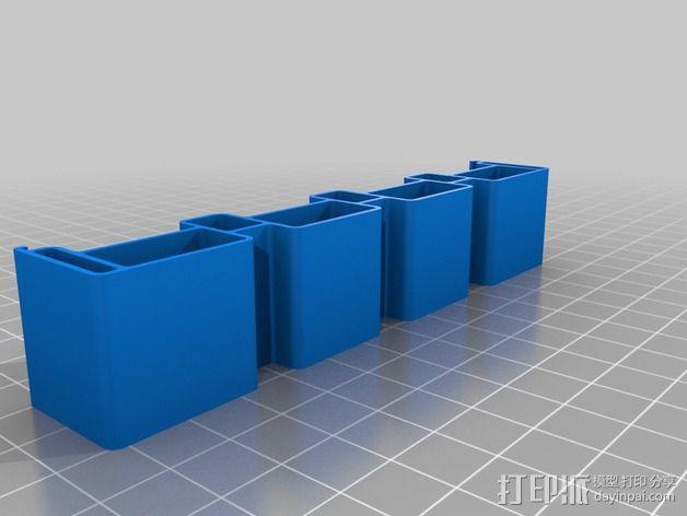 电路板主板支架 3D模型  图2
