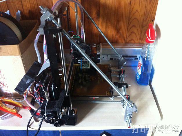 Prusa i3打印机Z轴固定套件 3D模型  图1