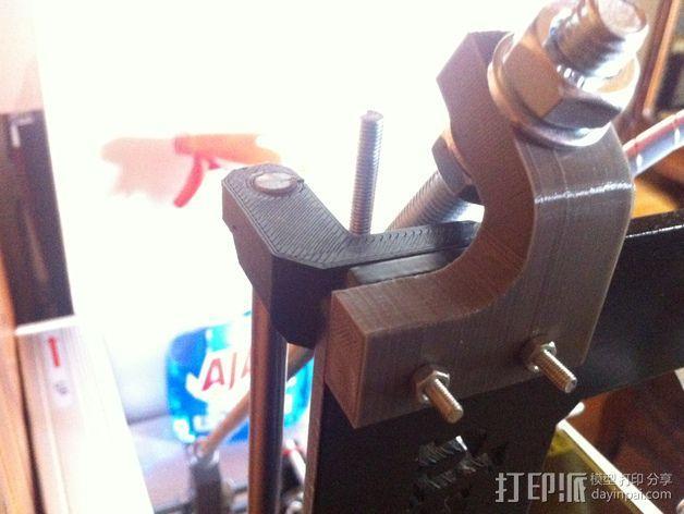 Prusa i3打印机Z轴固定套件 3D模型  图3