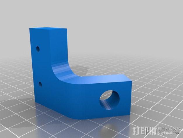 Prusa i3打印机Z轴固定套件 3D模型  图6