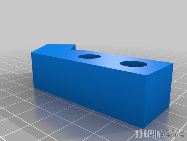 Prusa i3打印机Z轴固定套件 3D模型  图7