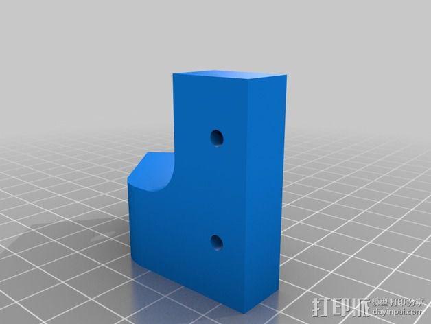 Prusa i3打印机Z轴固定套件 3D模型  图8