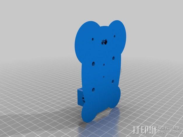 Delta 式打印机 3D模型  图5