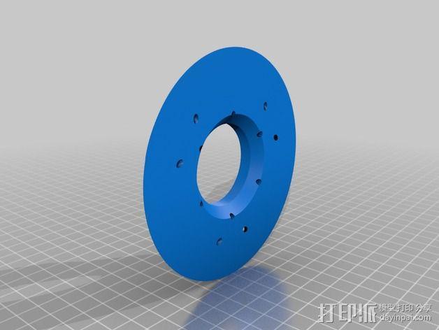 Delta 式打印机 3D模型  图6