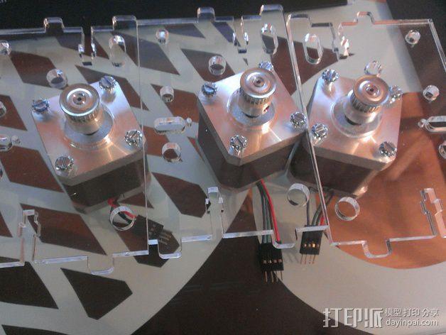 Delta 式打印机 3D模型  图8