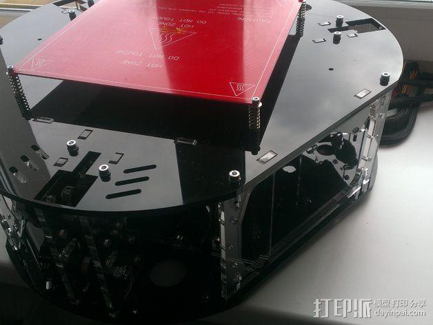 Delta 式打印机 3D模型  图9