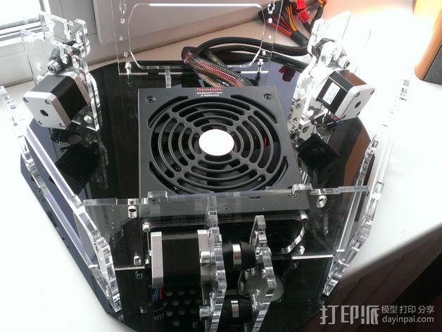 Delta 式打印机 3D模型  图12