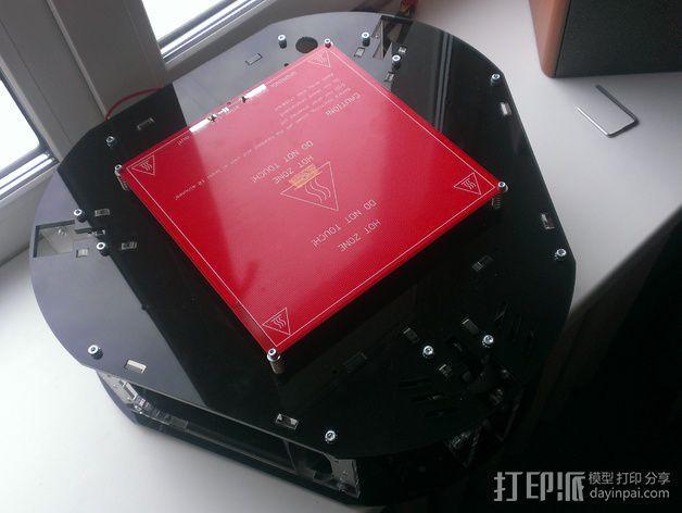 Delta 式打印机 3D模型  图15