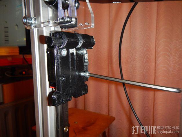 Delta 式打印机 3D模型  图21