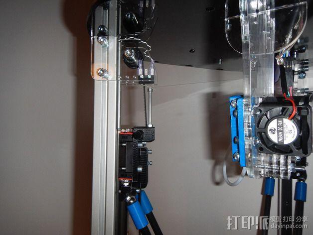 Delta 式打印机 3D模型  图53