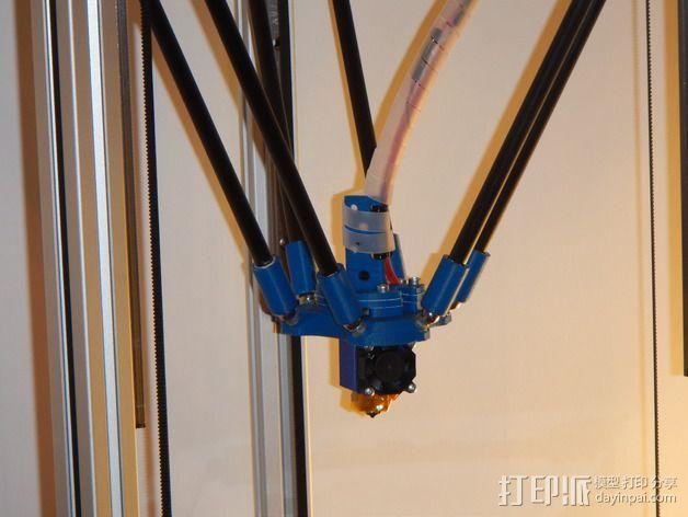 Delta 式打印机 3D模型  图58