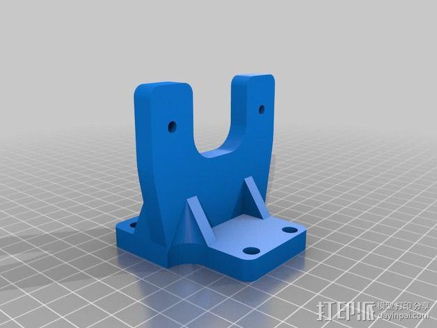挤出机适配器 3D模型  图5