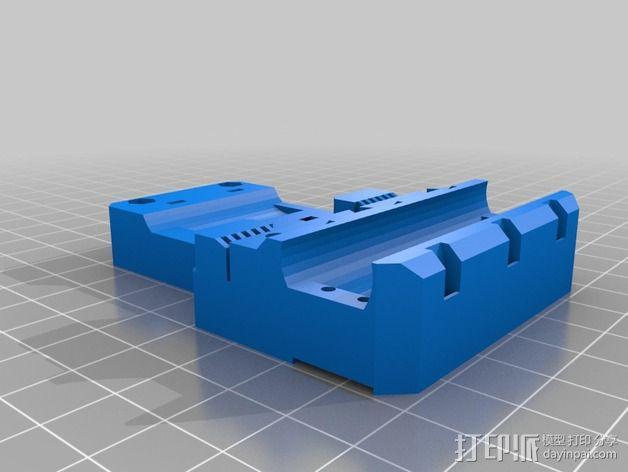 挤出机适配器 3D模型  图6