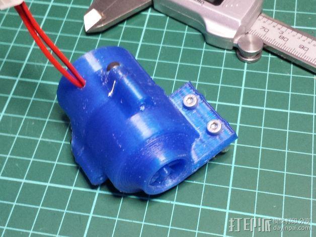 涡轮式风扇 3D模型  图2