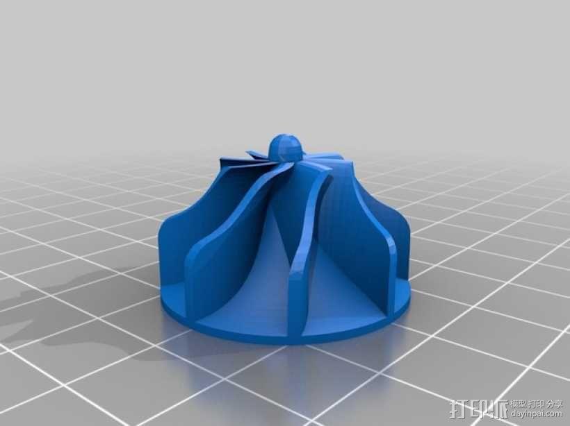 涡轮式风扇 3D模型  图13