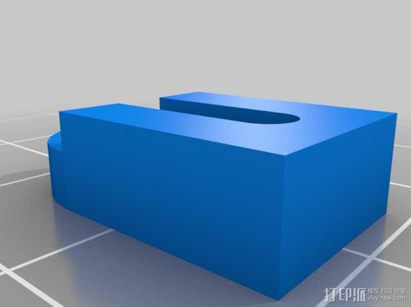 FSR支架 3D模型  图2