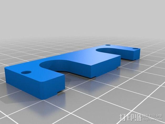 鲍登双挤出机 3D模型  图2