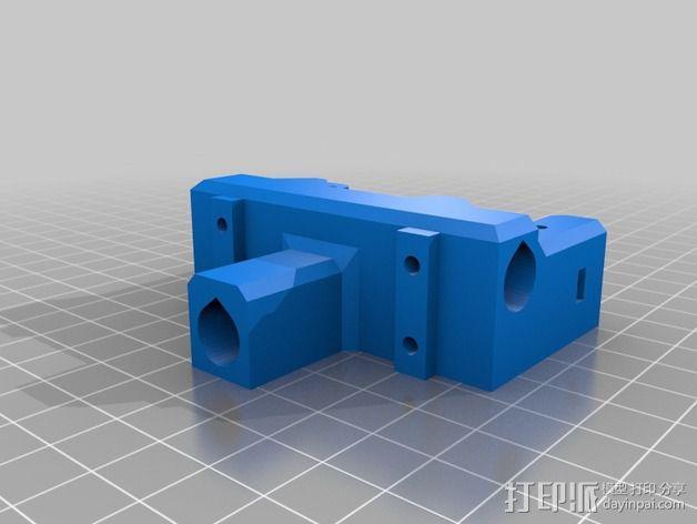 鲍登双挤出机 3D模型  图6