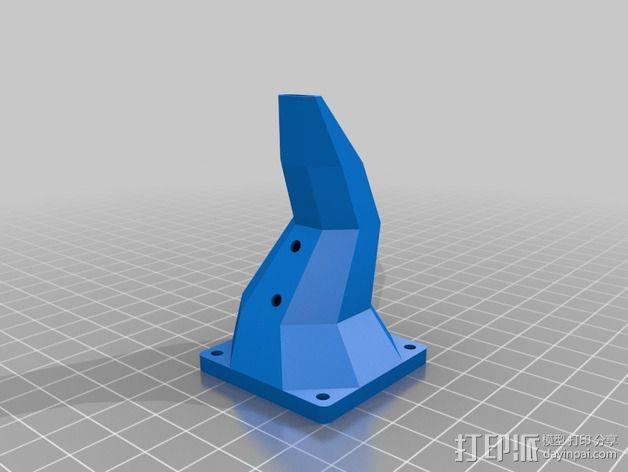 鲍登双挤出机 3D模型  图7