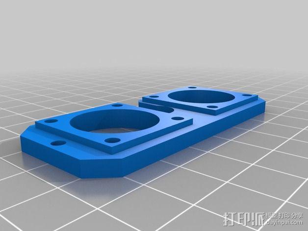 鲍登双挤出机 3D模型  图9