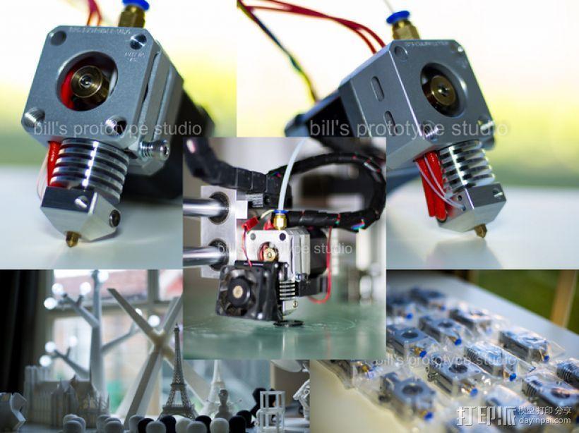 挤出机适配器 3D模型  图7