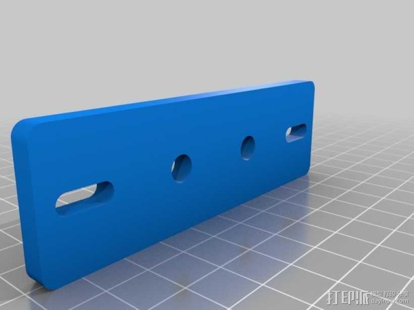 挤出机适配器 3D模型  图10